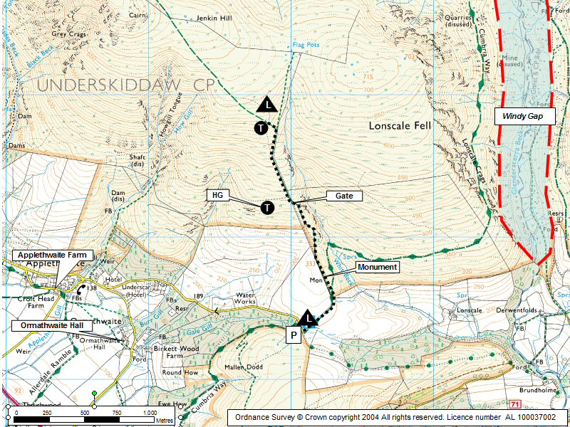 Jenkin Hill Map